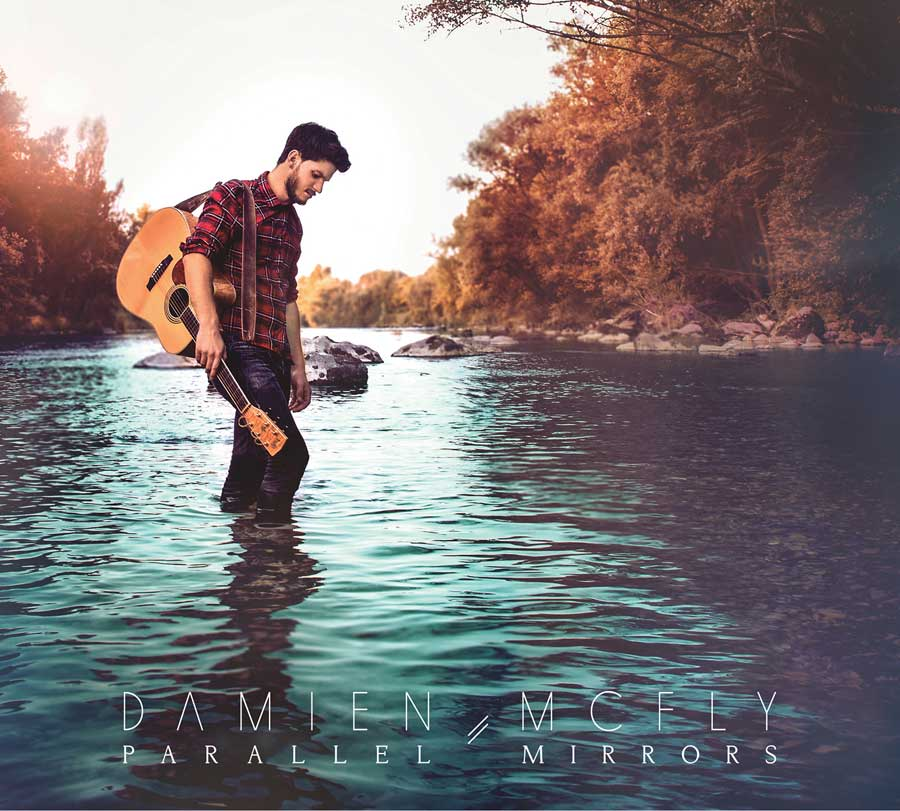 Damien McFly - Cover Album Parallel Mirrors