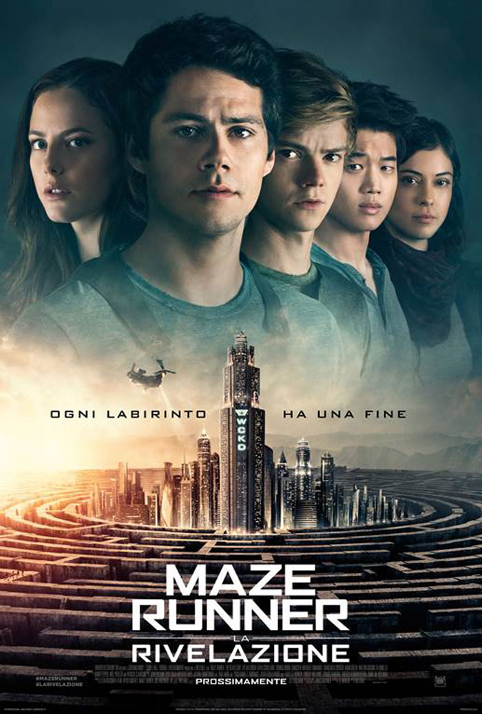 """Maze Runner – La rivelazione"" di Wes Ball con Dylan O'Brien e Thomas Sangster"