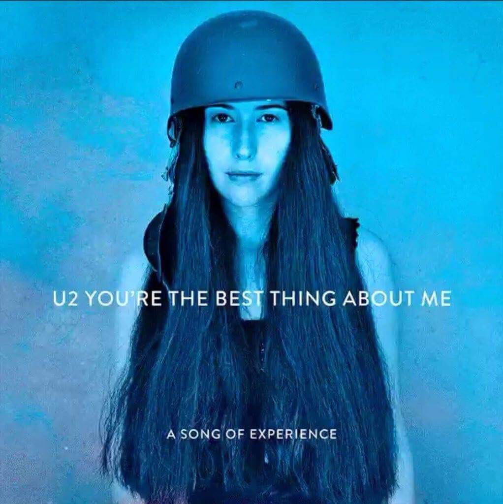 U2 - cover singolo You're The Best Thing About Me