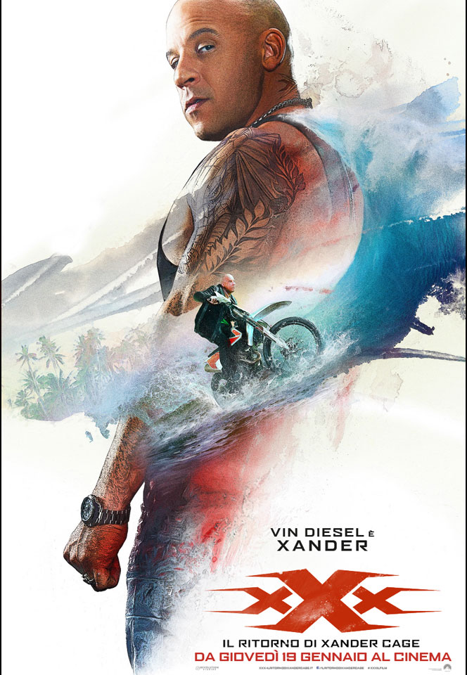 Vin Diesel - xXx the Return of Xander Cage