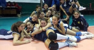 Under 13f della Gio' Volley Aprilia