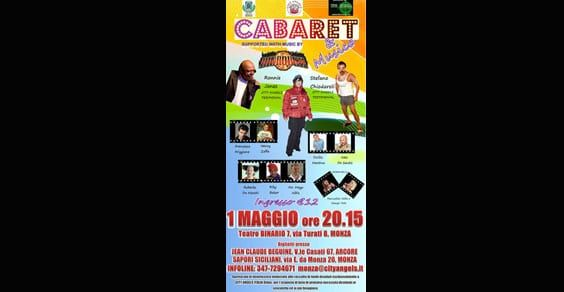 Cabaret & Musica: serata benefica per i City Angels