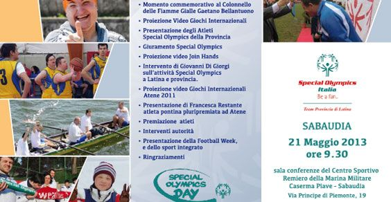 Special Olimpic Day Sabaudia