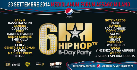 Hip Hop Tv B- Day Party