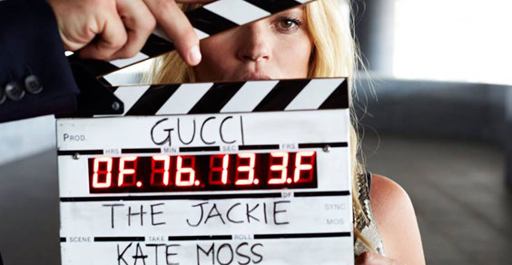 Kate Moss per Gucci