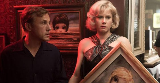 Big Eyes, il nuovo film di Tim Burton