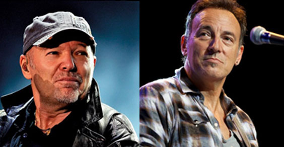 Vasco Rossi e Bruce Spingsteen