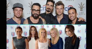 Backstreet Boys e Spice Girls
