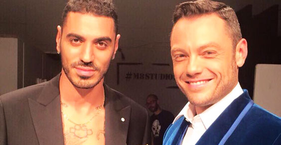 Marracash e Tiziano Ferro