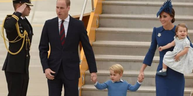 William e Kate in Canada: per la prima volta si fanno accompagnare dai figli
