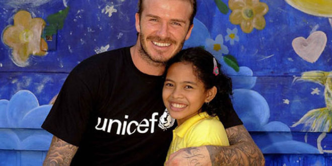Unicef: nuovo video con il Goodwill Ambassador David Beckham