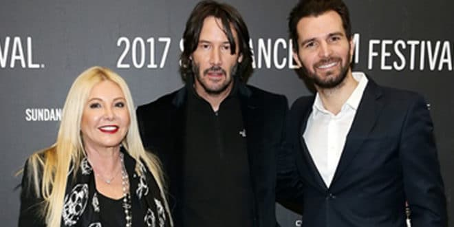 Andrea Iervolino e Monika Bacardi in competizione al Sundance con Keanu Reeves and Lilly Collins