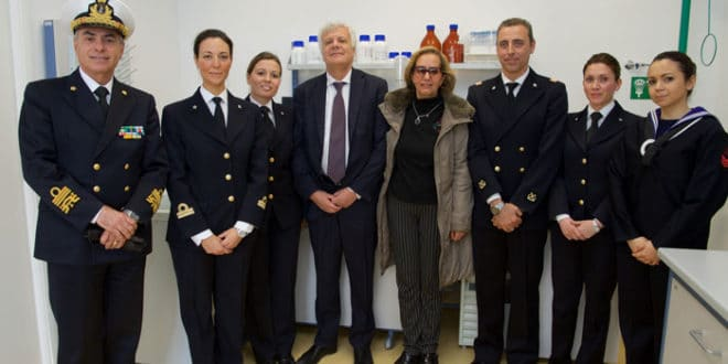 Inaugurazione Laboratorio di Analisi Ambientali della Guardia Costiera