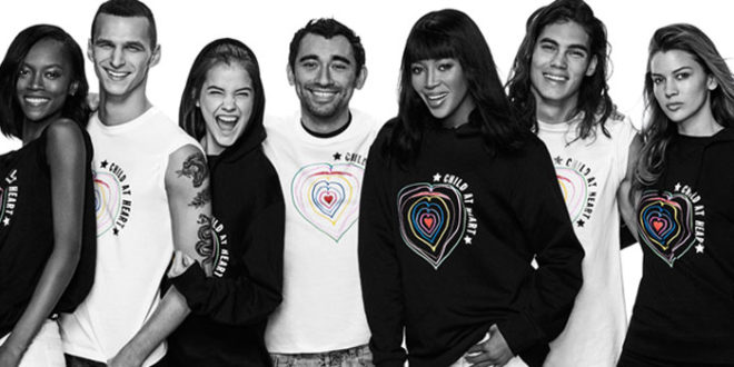 "Diesel e Naomi Campbell lanciano ""Child At Heart"""