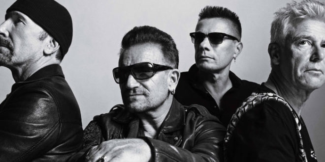 "U2 da record. ""You're The Best Thing About Me"" da 5 settimane al #1 posto nelle radio italiane"