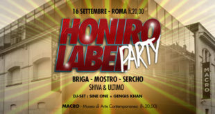 Honiro Label Party