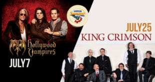 Hollywood Vampires e King Crimson