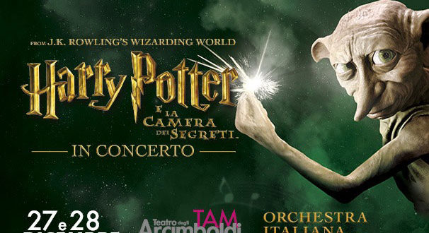 Harry Potter e la Camera dei Segreti in concerto a Milano