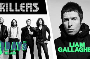 The Killers e Liam Gallagher