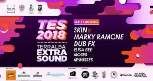 Terralba Extra Sound. Rock e dj set con Skin e Marky Ramone