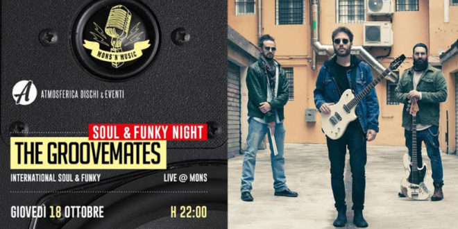 The Groovemates in concerto al Mons di Roma