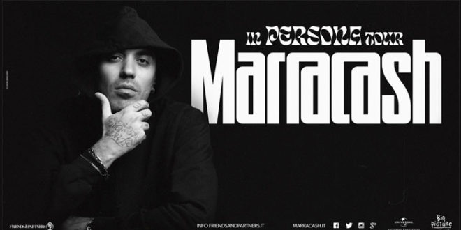 """In Persona Tour"" di Marracash rinviato al 2022"