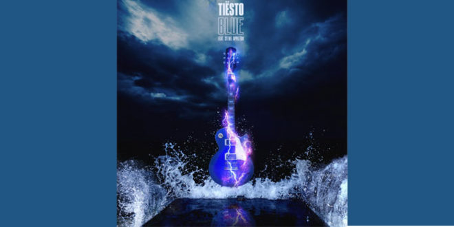 "Tiësto Featuring Stevie Appleton con il nuovo singolo ""Blue"""