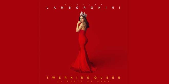 "È disponibile da oggi in pre-order su Amazon ""Twerking Queen"" di Elettra Lamborghini"