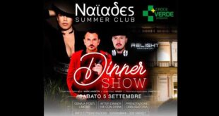 Dinner Show benefico