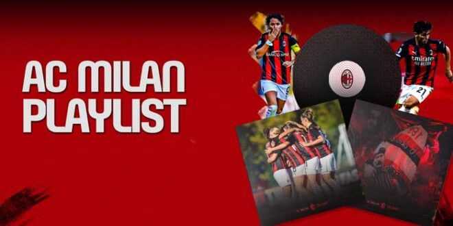 AC Milan sbarca oggi su Apple Music
