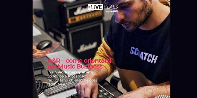 Nasce la LiveClass di Urban-Pop Songwriting per diventare autori