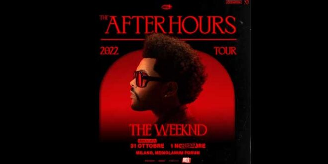 The Weeknd seconda data a Milano