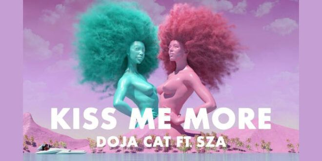 "Doja Cat feat. SZA con il singolo ""Kiss Me More"""